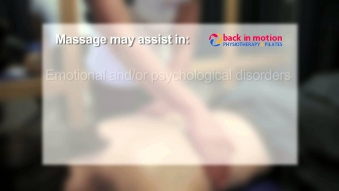 Embedded thumbnail for Back in Motion - Massage